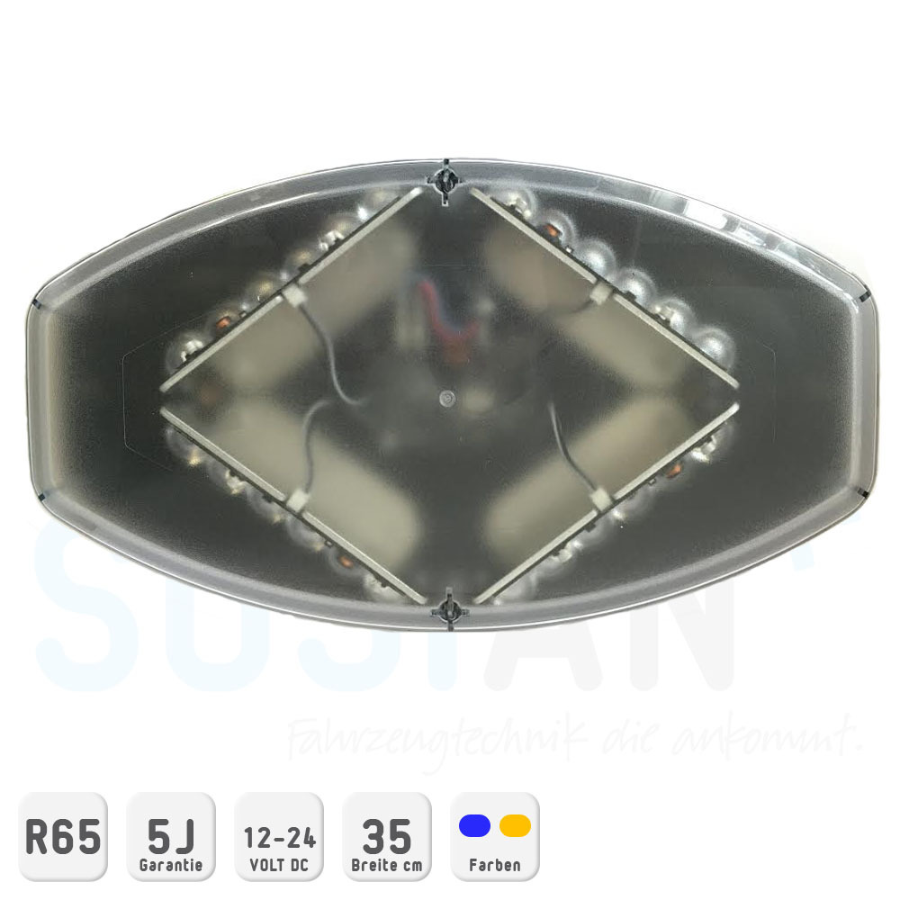 Mini Lichtbalken Diamond LED 12-24V 35cm R65 - SOSIAN
